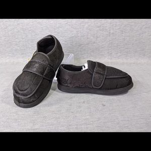 Foamtreads Physician L2 Black Satin Slippers
